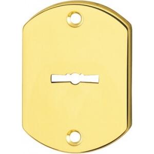Bocchetta per serratura a doppia mappa