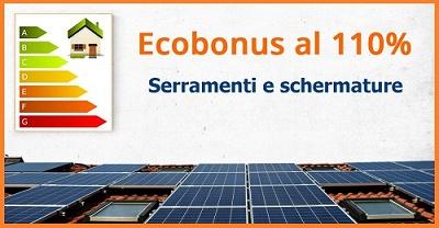 Ecobonus 110% per serramenti e schermature?