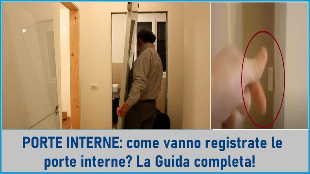 come registrare una porta interna