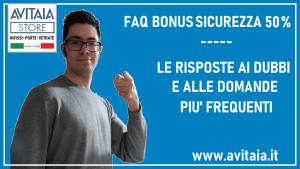 faq bonus sicurezza 50%